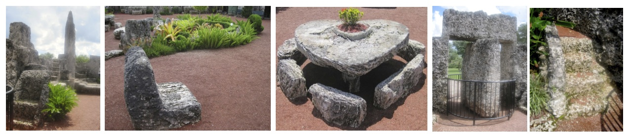 coral castle furniture elements