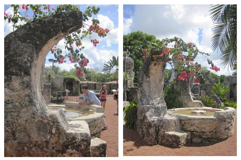 coral castle garden fountain awakening