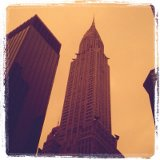 Chrysler building. Art Deco Architecture
