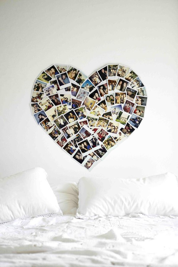 heart of photos for bedroom