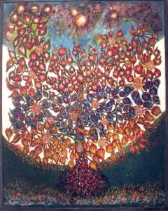 Séraphine Louis, L'arbre du paradis