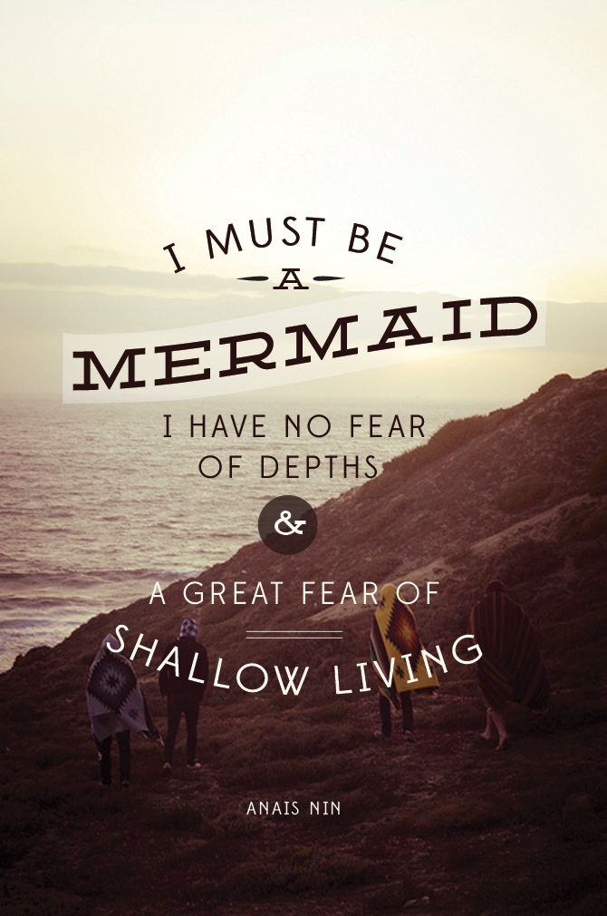 mermaid quotes goddess
