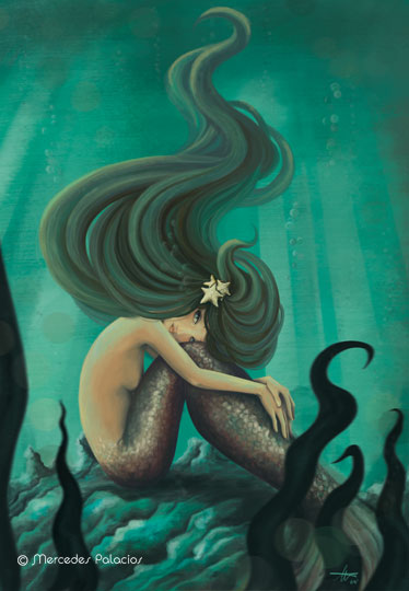 mermaid goddess of the ocean