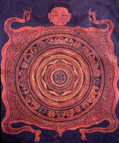 new-moon-tibetan-mandala. yantra
