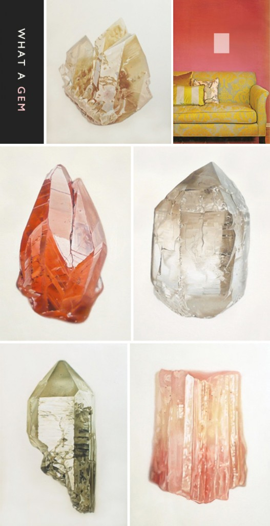 Mineral paintings by carly waito