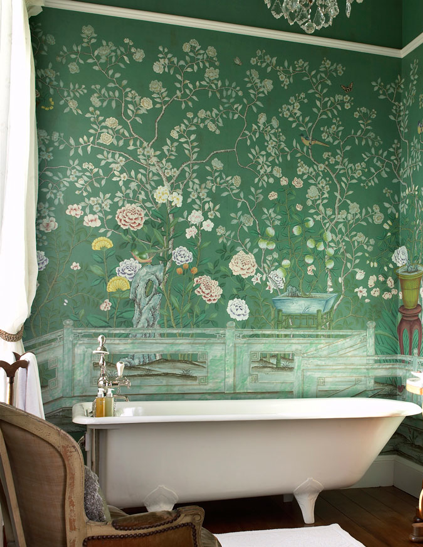 wallpaper by DeGournay.com, via Sanctuary of Houseofbliss
