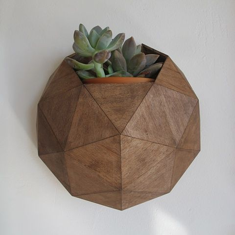geometric dome planter