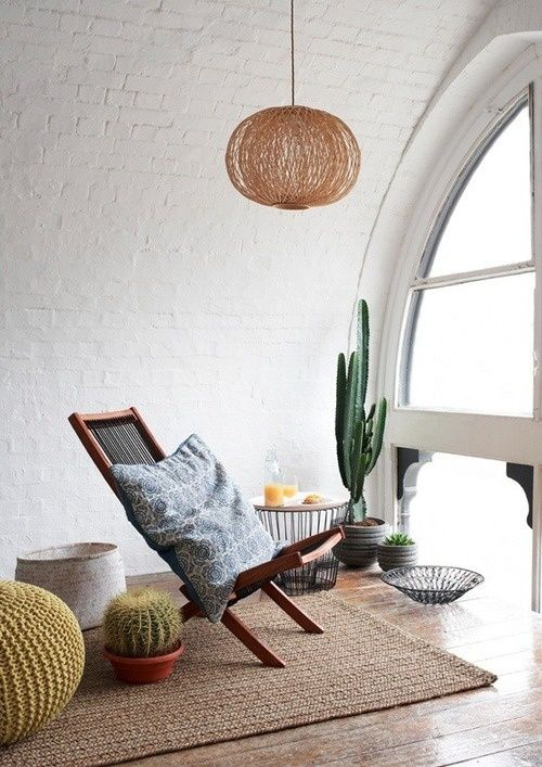 cactus corner in stillness via thebrickhouse.tumblr | awakening sacred flow