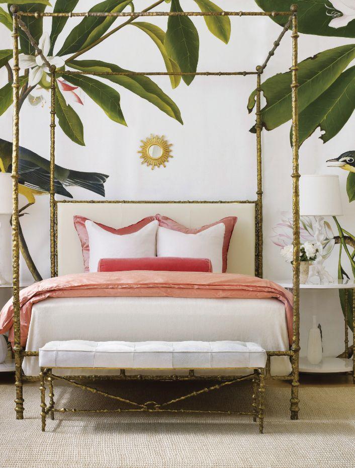 lush bedroom