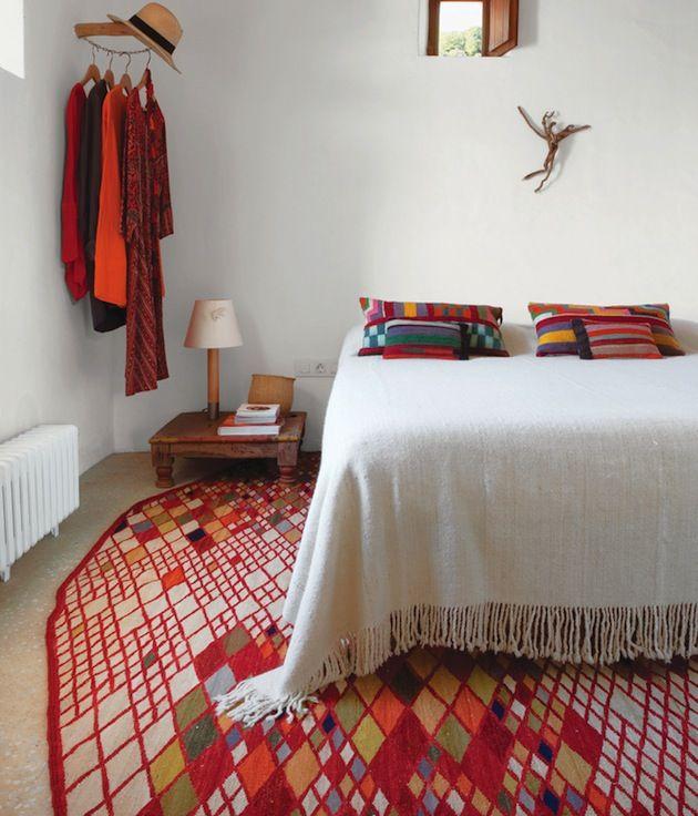 colorful bedroom via interior collective   awakening sacred flow