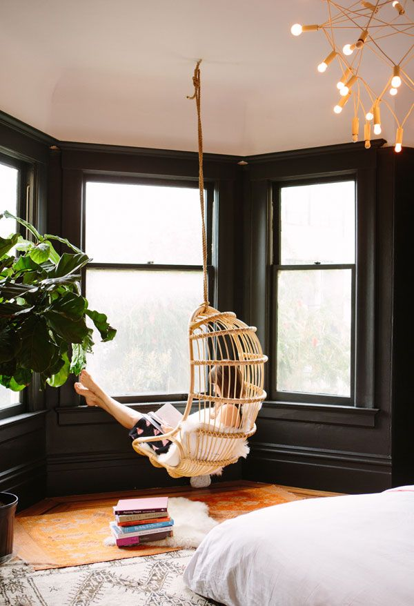 reading nook bedroom via oh happy day | awakening sacred flow