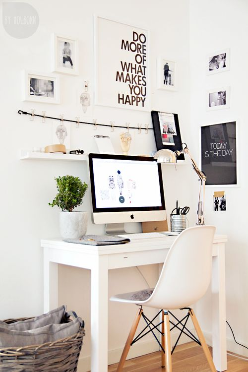 do more of what makes you happy creative work corner via blog.uncovet | awakening sacred flow