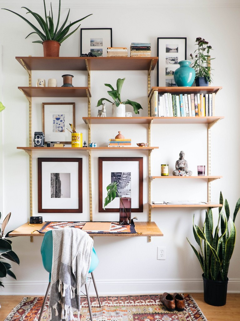 DIY mid-centure wall unit via oldbrandnewblog | awakening sacred flow